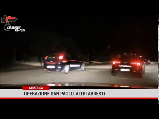Siracusa. Operazione San Paolo, altri arresti