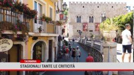 Taormina. Stagionali, tante le criticità