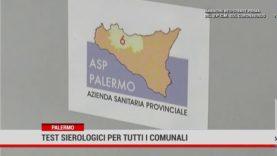Test sierologici per tutti i dipendenti del Comune di Palermo