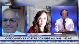 19LIVE  – IL CONDOMINIO RISPONDE, CON GASPARE CUDIA E CETTY OLIVERI
