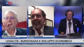 19LIVE – LEGALITA, BUROCRAZIA E SVILUPPO ECONOMICO, con Avv. Antonio Ingroia e Dr. Victor Di Maria