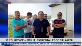 19YOURVOICE – RICHIESTA LEGGE CALAMITA' con Maurizio Grosso Segr.Generale Sindacato Si.F.U.S.