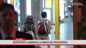 Aeroporto Falcone Borsellino: ad agosto in lieve aumento il traffico passeggeri