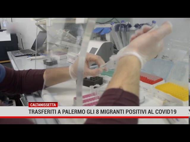 Caltanissetta. Trasferiti a Palermo 8 migranti positivi al Covid