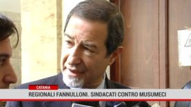 Catania. Regionali fannulloni, sindacati contro Musumeci