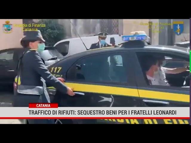 Catania.Traffico di rifiuti: sequestro beni per i fratelli Leonardi