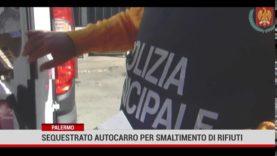 Controlli della Polizia Municipale di Palermo per il conferimento dei rifiuti pericolosi e speciali