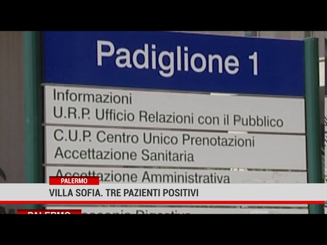 Coronavirus: tre pazienti positive a Villa Sofia