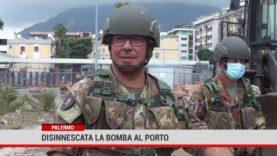 Disinnesco bomba,  l'intervento è stato eseguito dai militari del 4′ Reggimento Genio Guastatori