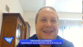 FILIPPO CUCINA INTERVISTA IL PROF. VINCENZO GUARNERI  DIRIGENTE SCOLASTICO ICS P. P. PINO PUGLISI PA