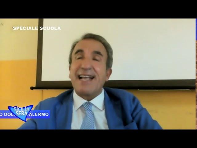 FILIPPO CUCINA INTERVISTA MATTEO CROCE DIRIGENTE SCOLASTICO DEL LICEO DANILO DOLCI DI PALERMO.