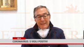 Gela. Coronavirus: 5 vigili positivi