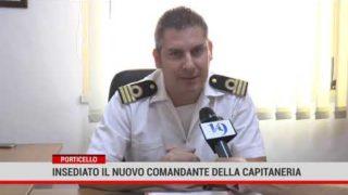 Il nuovo comandante della Capitaneria di Porticello