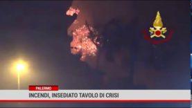 Incendi: insediato il Tavolo di crisi per la proclamazione dello stato di calamità
