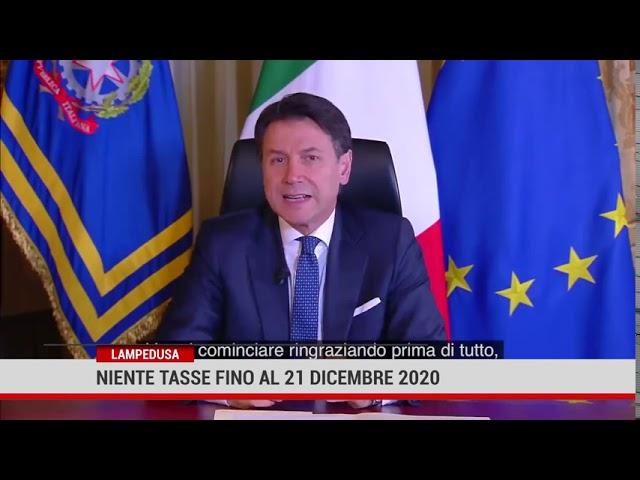 Lampedusa. Niente tasse fino al 21 dicembre 2020