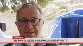 Lampedusa. Task force Regione: sovraffollamento evidente