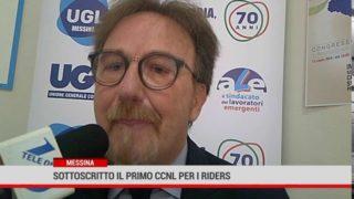Messina. Sottoscritto il primo CCNL per i riders