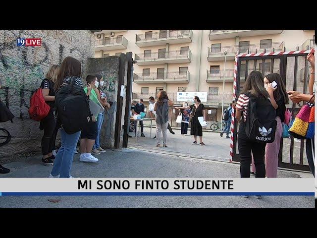 Mi sono finto studente – Reportage