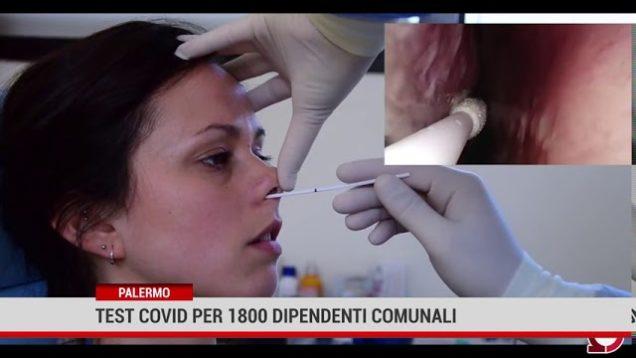 Palermo. Al via i test covid 19  per 2800 dipendenti del Comune