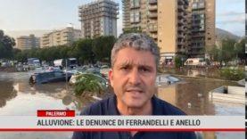 Palermo. Alluvione: le denunce di Ferrandelli e Anello