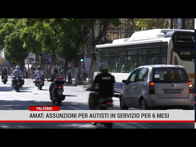 Palermo. Amat: prevista l'assunzione di 100 autisti