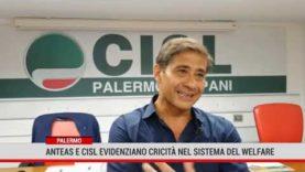 Palermo. Anteas e Cisl evidenziano criticità nel sistema Welfare