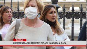 Palermo. Assistenti agli studenti disabili ancora a casa