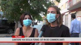 Palermo. Cantiere Via Trinacria fermo: sit-in dei commercianti