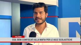 Palermo.Cgil: convertire i beni confiscati alla mafia in plessi scolastici