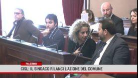 Palermo. Cisl: il sindaco rilanci l'azione del Comune