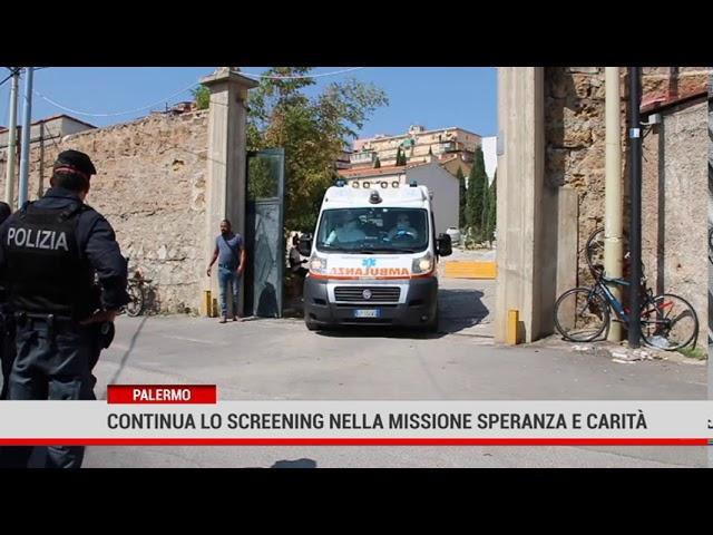 Palermo. Continua lo screening nella missione Speranza e Carità