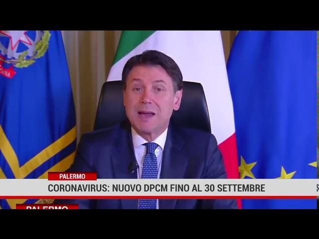 Palermo. Coronavirus: nuovo Dpcm in vigore fino al 30 settembre