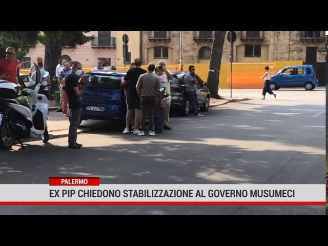 Palermo. Ex pip chiedono stabilizzazione al governo Musumeci