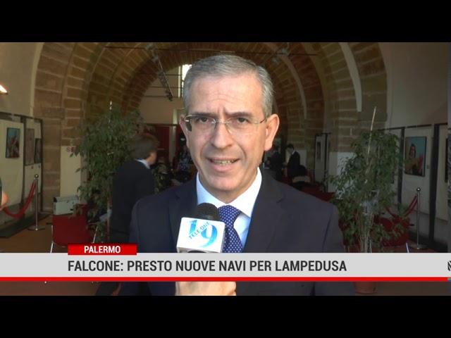 Palermo. Falcone: presto nuove navi per Lampedusa