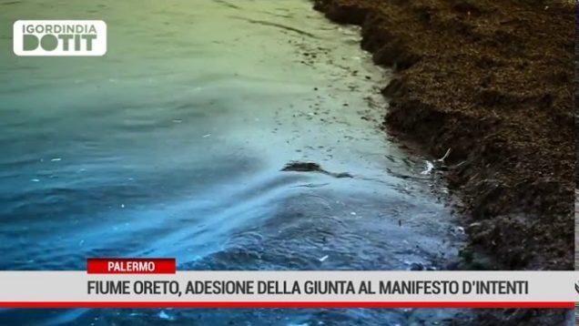 """Palermo. Fiume Oreto, adesione della Giunta al """" Manifesto d'intenti"""""""