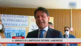 Palermo. Il sindaco di Lampedusa difende Lamorgese