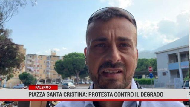 Palermo. In piazza Santa Cristina, residenti contro il degrado