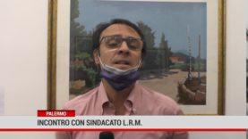 """Palermo.Incontro con il Segretario Generale del Sindacato""""Libera Rappresentanza dei Militari"""