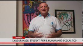 Palermo. L' augurio agli studenti per il nuovo anno scolastico