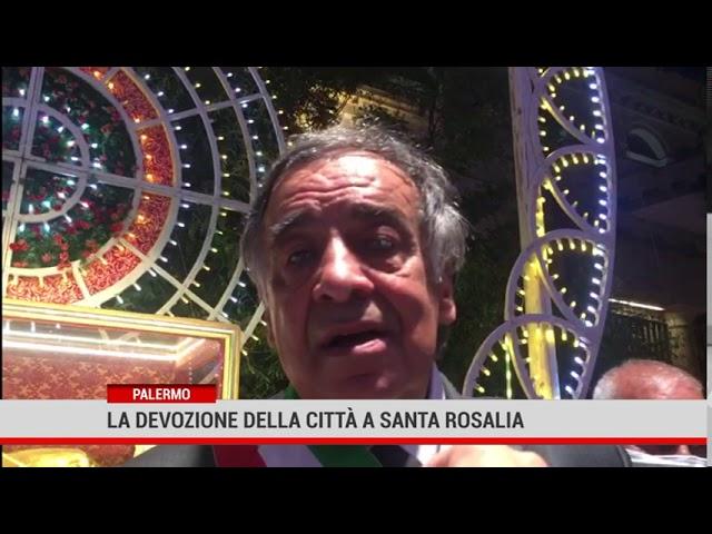 Palermo. La devozione della città a Santa Rosalia