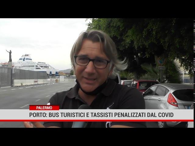 Palermo. Porto: bus turistici e tassisti penalizzati dall'emergenza sanitaria