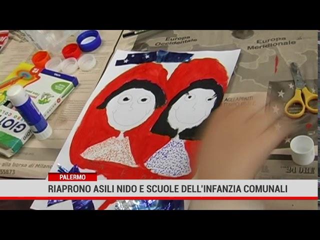 Palermo. Riaprono asili nido e scuole dell'infanzia comunali