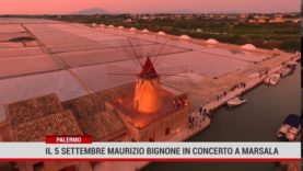 Palermo. Sabato 5 Settembre Maurizio Bignone in concerto a Marsala
