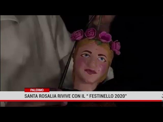 """Palermo. Santa Rosalia rivive con il  """"Festinello 2020"""""""