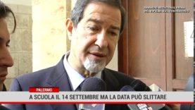 Palermo. Scuola, in Sicilia apertura il 14 settembre ma la data può slittare