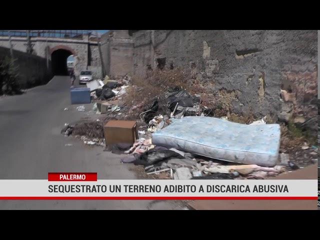 Palermo. Sequestrata discarica abusiva