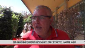 Palermo. Sit-in dei Dipendenti licenziati dell'ex Motel Agip