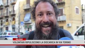 Palermo. Volontari ripuliscono la discarica di via Torino