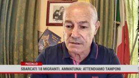 """Pozzallo. Sbarcati i 18 migranti soccorsi dalla """"Asso 29"""""""