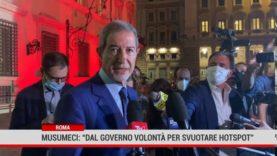Roma. Musumeci: dal Governo volontà per svuotare hotspot